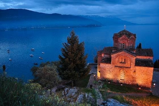 St. John Kaneo Church, overlooking Lake Ochrid, Macedonia