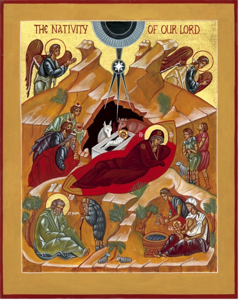 Icon of the Nativity, by the hand of Hieromonk Vladimir